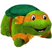 Nickelodeon TMNT Michelangelo Pillow Pet - Teenage Mutant Ninja Turtles Michaelangelo Stuffed Plush Toy