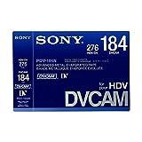 SONY Pdv-184N/3 Dvcam Casette Tape 1Pc Japanese Made [International Version, No Warranty]