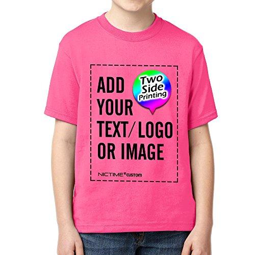 NICTIME Custom T Shirts for Boys Girls Design