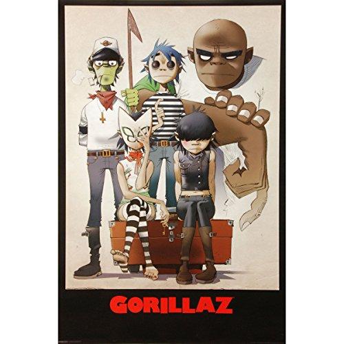 Gorillaz - Domestic Poster