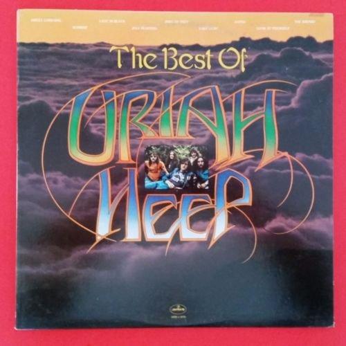 Price comparison product image URIAH HEEP Best Of LP Vinyl VG++ Cover VG++ 1972 SRM 1 1070