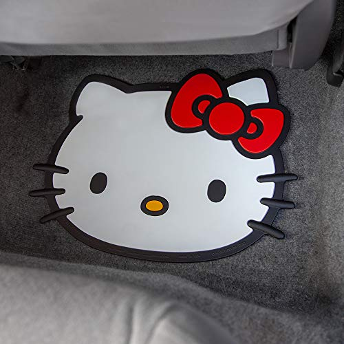 "Plasticolor Hello Kitty Face Die Cut Utility Mat- 14"""