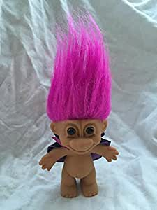 "Amazon.com: 4.5"" Good Luck Super Hero Troll Pink Hair ..."