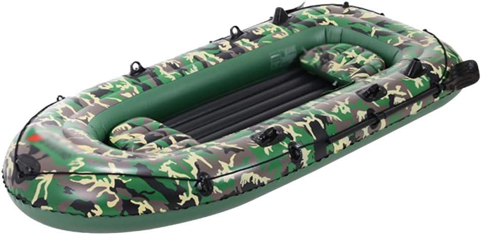 四人カヤック肥厚耐久性のあるディンギー屋外チャレンジャーインフレータブルボート