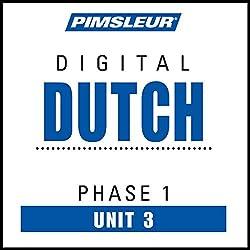 Dutch Phase 1, Unit 03