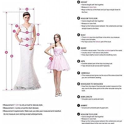 Miranda's Bridal Women's Sleeveless V Neck Pleated A Line Long Bridesmaid Dress