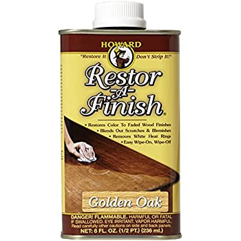 Howard RF3008 Restor-A-Finish, 8-Ounce, Golden Oak