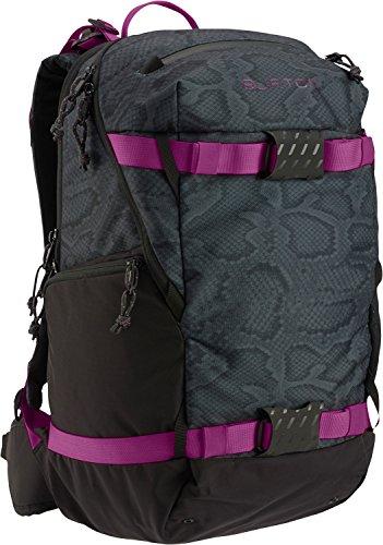 Burton Riders Bag - Burton Women's Rider's Backpack, Python Print, 23 L