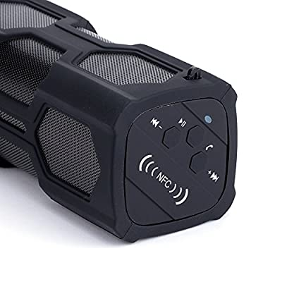 Lemfo Bluetooth Speaker Waterproof Ipx4 NFC Portable Wireless Music Sound Box Stereo AUX Subwoofer with Microphone