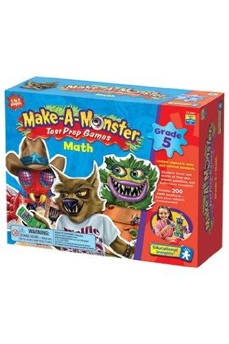 Make Monster Math Test Games