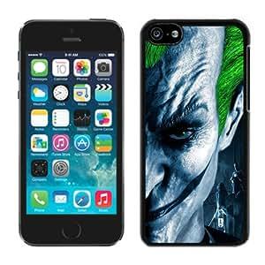 Unique And Antiskid Designed Cover Case For iPhone 5C With Joker 1 Black Phone Case
