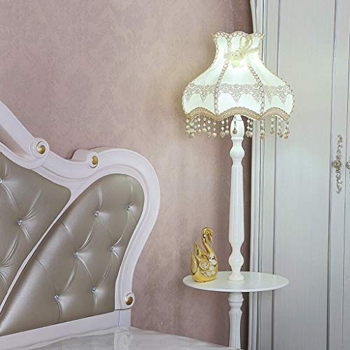 (ChuanHan Ceiling Fan Light Chandelier Lightings Table Lamp European Style Pastoral Floor Living Room Bedroom Princess Room Kids Children's Bedside)