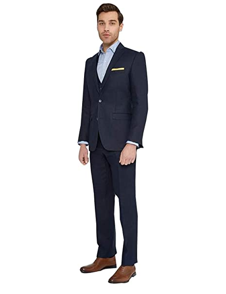 P&G Hombre Conjuntos de Traje de Vestir de Negocios de Tres ...
