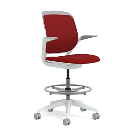 Amazon.com: Steelcase Cobi Swivel-Base Stool: Hard Floor ...