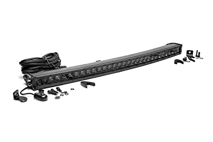 Amazon rough country 72730bl 30 inch black series single rough country 72730bl 30 inch black series single row curved cree led light aloadofball Gallery