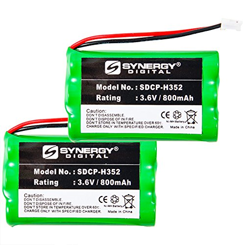 General Electric 28021 Cordless Phone Battery Combo-Pack includes: 2 x SDCP-H352 (General Electric Cordless Phones)