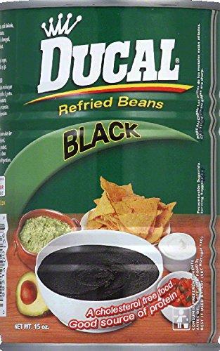 Ducal Bean Refried Black by Ducal