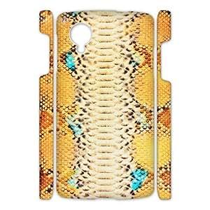 Google Nexus 5 Serpentine 3D Art Print Design Phone Back Case Personalized Hard Shell Protection FG058314