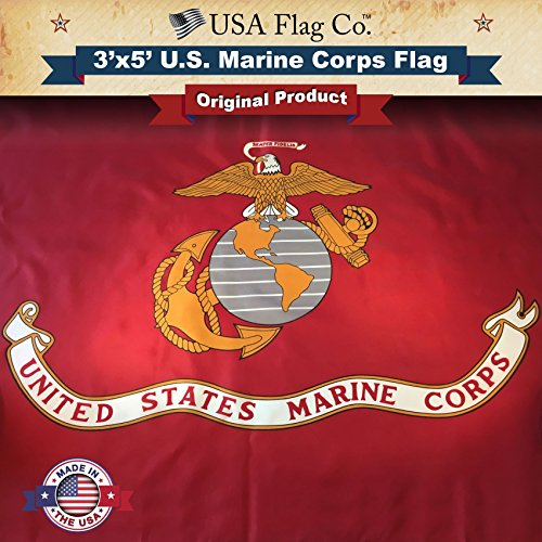 Marine Corps Flag by USA Flag Co. is 100% American Made: The