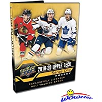 2019/20 Upper Deck Series 1 NHL Hockey Awesome Starter Kit with 24 Cards, Ultra Pro Binder that holds up to 252 Cards, Checklist Poster, Collector's Guide & EXCLUSIVE Sophomore Sensations Card!