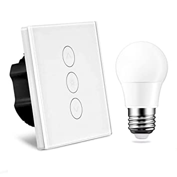 Remarkable Dimmer Switch Alexa Random 1 Gang 2A 400W Led Touch Switch Sensor Wiring Digital Resources Instshebarightsorg