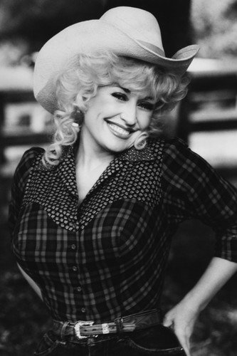 Dolly Parton smiling pose in stetson country music legend 24x36 Poster from Silverscreen