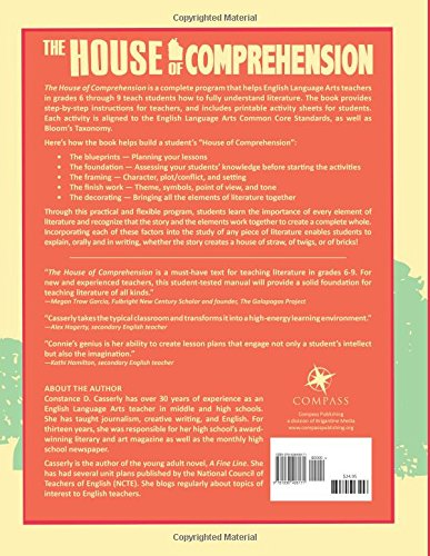 Amazon.com: The House of Comprehension: Grades 6-9 (9781938406171 ...