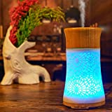 Black Friday Molyveva LED Aroma Diffuser Essential Oil Ultrasonic Air Humidifier Purifier Atomizer