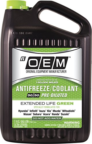 Concentrated Antifreeze - OEM 86-384GROEMH Premium Antifreeze 50/50 Extended Life Green, 128. Fluid_Ounces