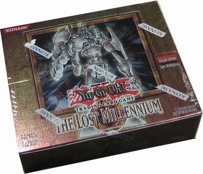 Yugioh Card Game - The Lost Millennium 1ST EDITION HOBBY Booster Box - 24P9C