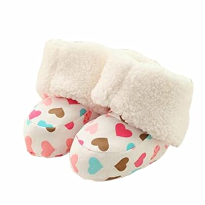bébé Premier Walkers Semelles souples Coton Chaussures enfant Peu d'amour