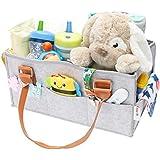 Flash Ecommerce Baby Diaper Caddy Organizer   Nursery Storage Bin Basket   Newborn Registry Must Haves   Boy Girl Diaper Storage Bin for Changing Table   Portable Car Travel Organizer