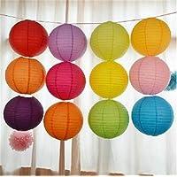 ROYALS Lantern Rice Hanging Paper Ball Lamp with Shades