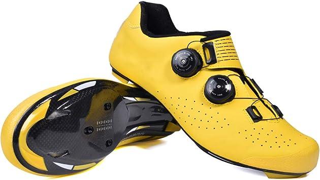 Zapatos de ciclismo para hombres, Zapatos de bloqueo para ...