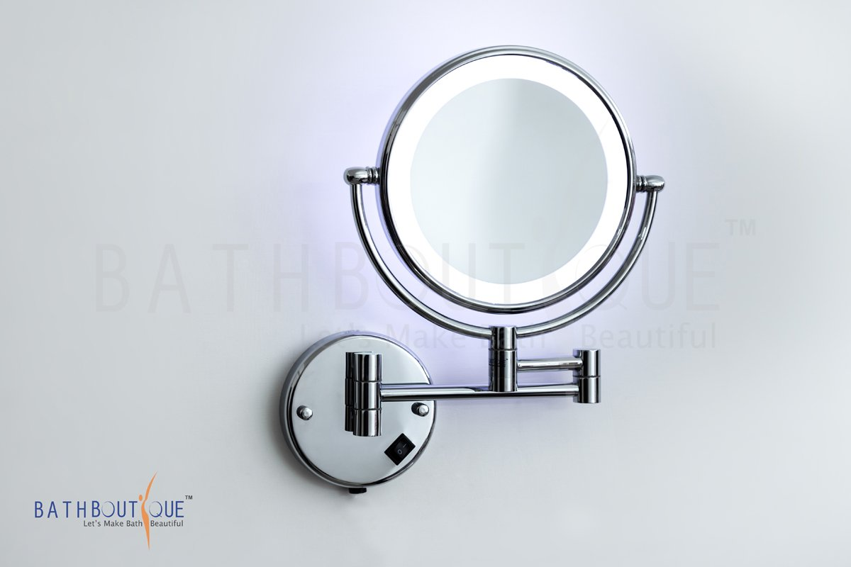 mirror vanity gift com magnification with lighted walmart light battery small and magnifying folding ip iluminate lighting makeup compact operated