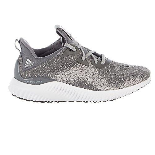 adidas Women's Alphabounce 1 W, Grey Three/Grey Two/Core Black, 9.5 Medium US by adidas