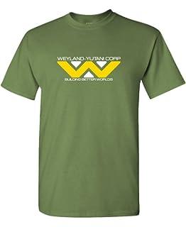 The Goozler WEYLAND YUTANI - Mens Cotton T-Shirt