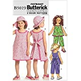 Dresses and Leggings Sewing Template CDD McCall Pattern Company M7043CDD Childrens//Girls//18-Inch Doll Tops 2-3-4-5