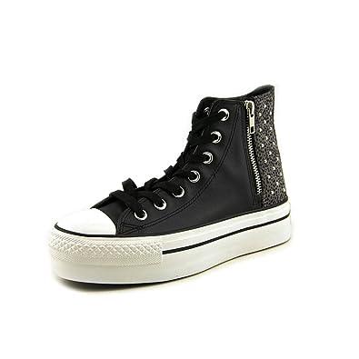 7f3e1058d28b Converse Women s Chuck Taylor Platform Hi Classic Lace-Up Half Shoe ...