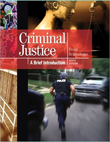 Introduction to Criminal Justice 13th (thirteenth) edition