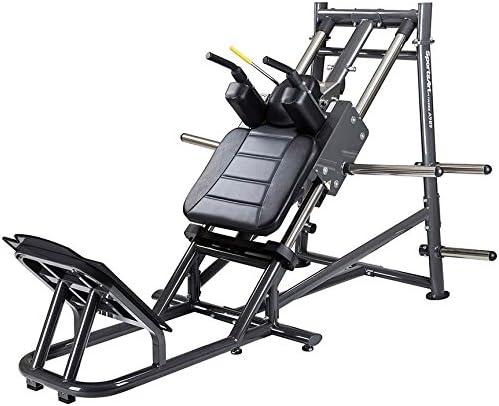 IRON COMPANY SportsArt Plate Loaded Hack Squat Machine