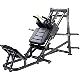 IRON COMPANY SportsArt Fitness A989 Plate Loaded Hack Squat for Club Use - Commercial Angled Squat Machine for use with…
