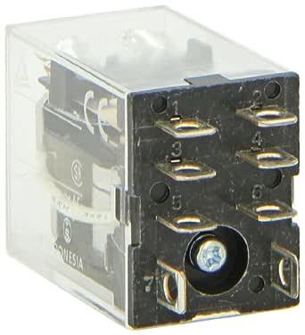 LY2 24VAC Relais électromagnétique DPDT ucoil 24VAC 10A//110VAC 10A//24VDC OMRON