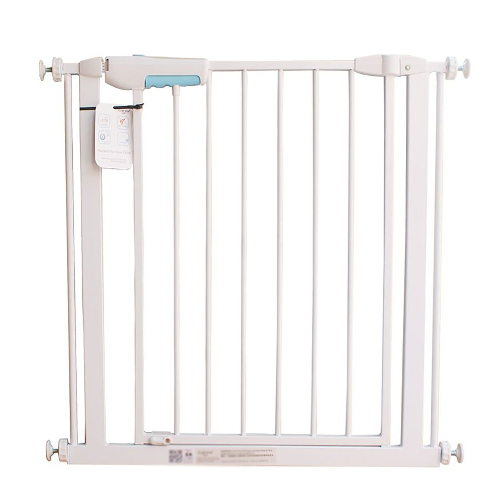 YHDD 赤ちゃんの安全ドアの遮断ドア子供のバルコニー保護犬のドア階段保護固定保護ドア (サイズ さいず : 57-65cm) 57-65cm  B07QBXPJL7