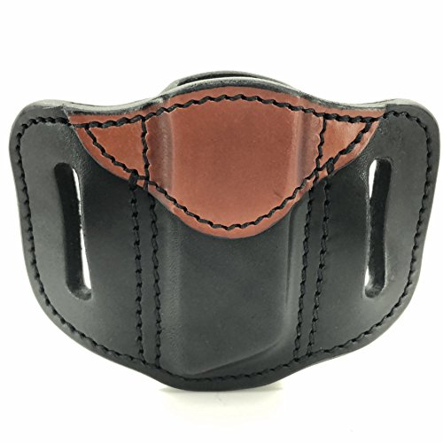 1791 Gunleather Single Mag Holster, OWB Magazine Pouch for belts available in Stealth Black, Classic Brown and Signature Brown (Black and Brown)