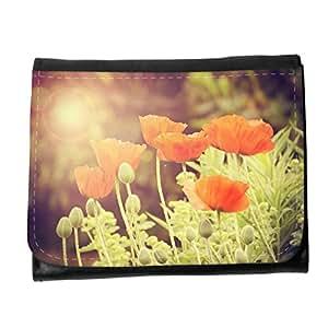 le portefeuille de grands luxe femmes avec beaucoup de compartiments // M00154412 Flores de la flor natural resorte de la // Small Size Wallet