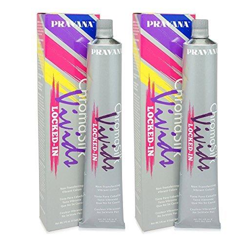 Pravana ChromaSilk Vivids (Locked in Pink), 3 Fl 0z - 2 Pack