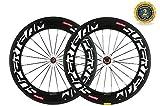 Superteam 88mm Carbon Wheelset 700c Clincher Bicycle Wheel with 291 Super-Light Hub