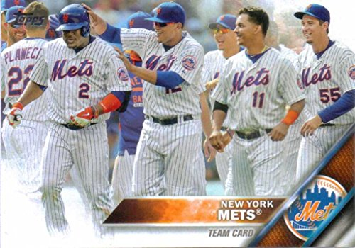 New York Mets 2016 Topps MLB Baseball Regular Issue Complete Mint 21 Card Team Set with David Wright, Matt Harvey, Curtis Granderson Plus