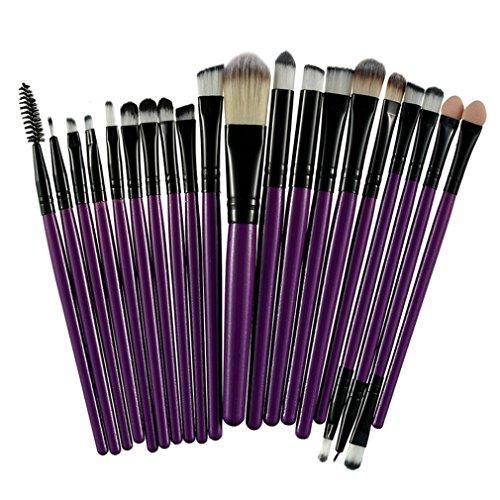 20Pcs Professional Makeup Brushes Set Powder Foundation Eyes